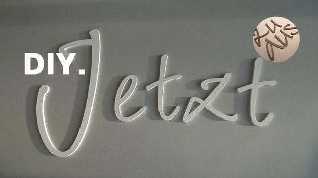 Holzbuchstaben, Buchstaben: Die persönliche Raum- und Wandgestaltung - Dekoration für Tür, Wand, Eingang, Decke, Fenster, Schrank,... Hausnummer oder Einzelbuchstaben, Initialen, Namen,...