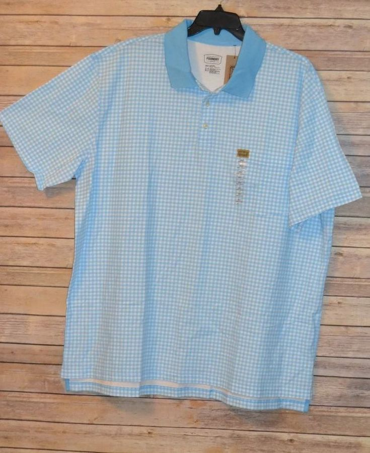 813 best big tall mens wear images on pinterest big for Foundry men s polo shirts