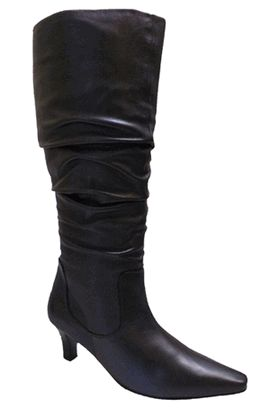 Ros Hommerson Women's Tiffany Super Wide Calf™ Boot (Black Leather) - Ros  Hommerson