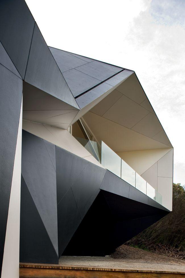 Klein Bottle House on the Mornington Peninsula in Australia, designed by architects McBride Charles Ryan.