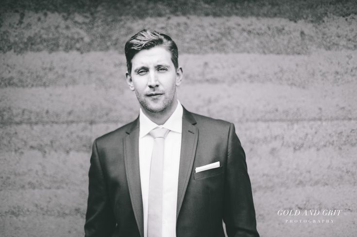 Pre ceremony groom wedding portraits at The Orchard Luxury B&B, Red Hill South, Mornington Peninsula.