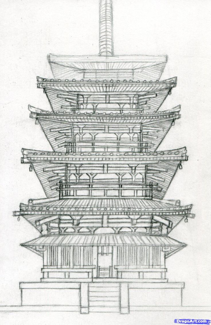 Architecture Building Drawing best 25+ japanese buildings ideas on pinterest | japanese culture