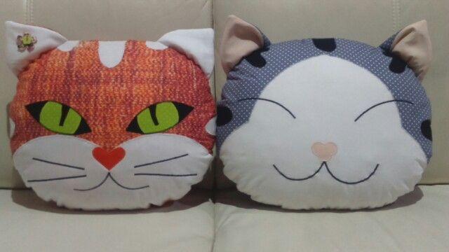 Kocúr a mačka - vankúše