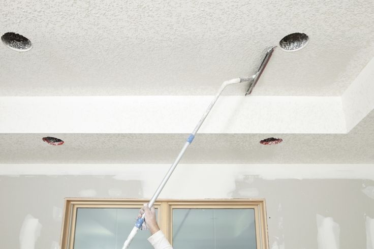 This Simple Trick Removes Popcorn Ceilings Without the Mess.  Awesome ✨‼️✨