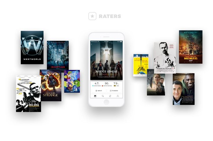 Raters is a simple and fun way to discover great movies based on reviews from people you trust. As a film buff, you can save movies to your watch list, share your favorite ones with friends, and keep track of what others are watching. http://ratersapp.com/ #iondigi #iondigital #raters #web