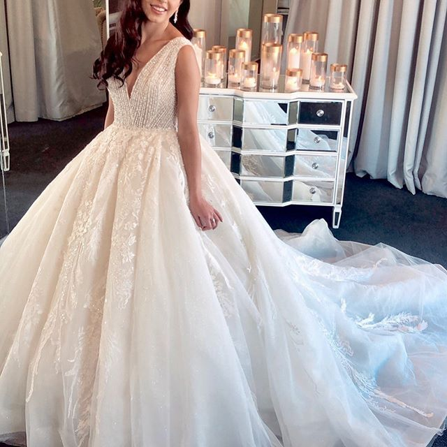 The Heavenly Detailed Remy Gown You Can Only Wear A Princess Dress Once In Your Lifetime M Wedding Dresses Sydney Wedding Dresses Wedding Dress Shopping