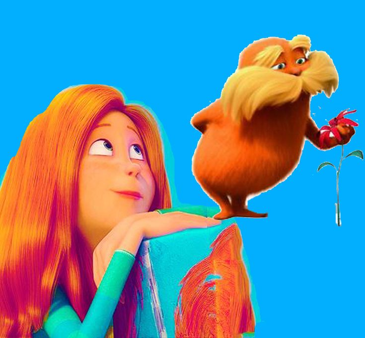 Audrey With The Lorax