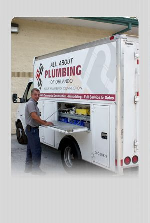Welcome to All About Plumbing - Family owned.  Very honest & reliable. 407.366.0067. Tell them Robin referred you but make sure to say Rick Smiths sister in law.