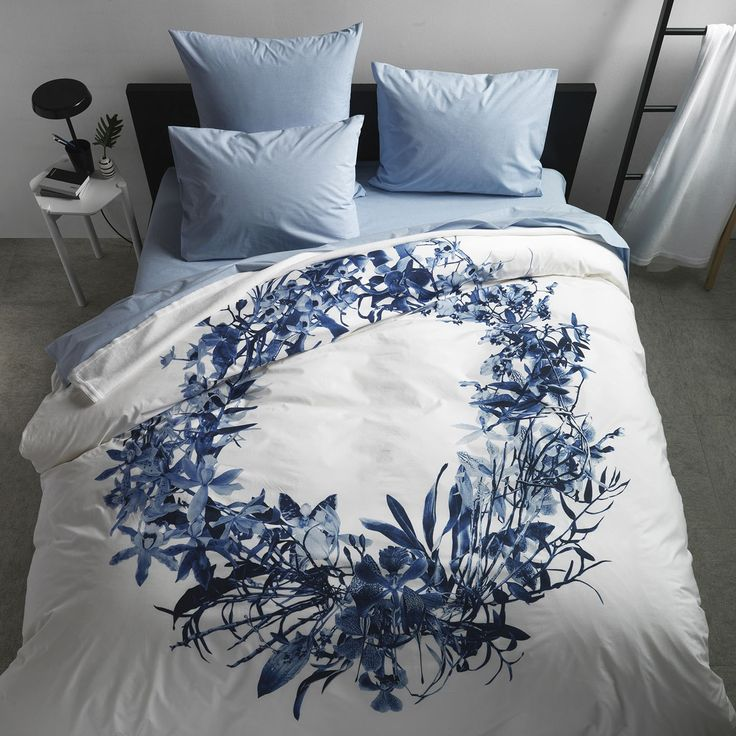 Orchid Blue Duvet Cover