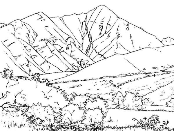 Mountain Scenery Coloring Pages Printable Free Coloring Sheets Coloring Pages Coloring Pages For Kids Creation Coloring Pages