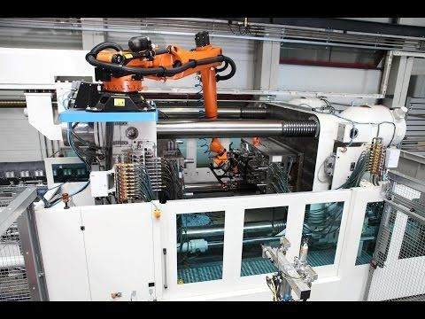KUKA Robots for Plastics Industry Oct 2013 - YouTube