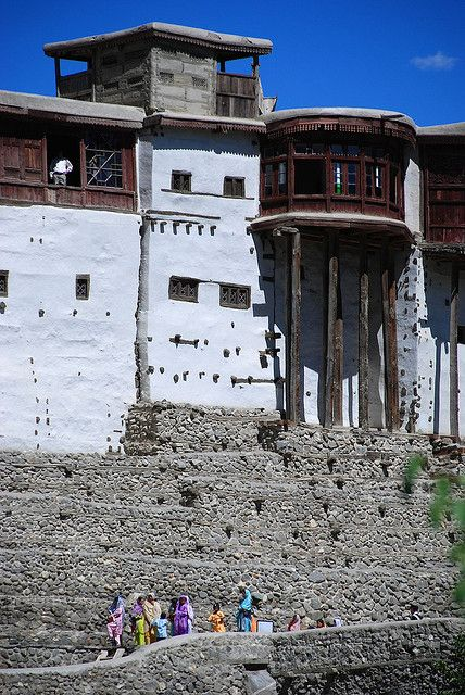 Baltit Fort by elise and matt, via Flickr