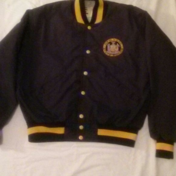 DeLong  Official New York State Police Jacket DeAling Official New York State Police Jacket Size Large in EUC Jackets & Coats