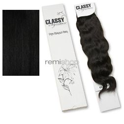 "Classy Signature Virgin Malaysian Spanish Wave 10-12"" - Color 1 - Remi Weaving"