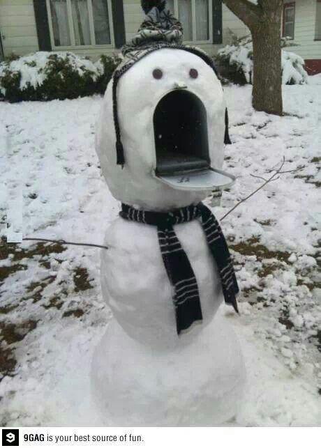 Makes me wish i had a stand mail box