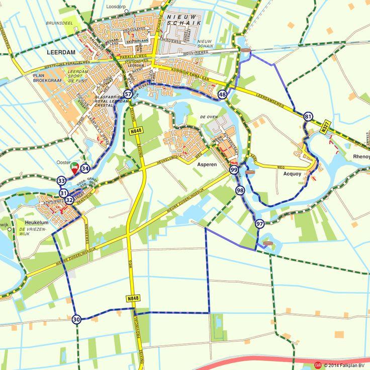 Fietsroute: Forten bij Leerdam (http://www.route.nl/fietsroutes/140558/Forten-bij-Leerdam/)
