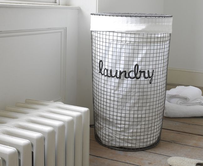 Our Lavanderie laundry basket has a gorgeous vintage finish to it. We've managed to make a laundry basket look sexy. Ta-da!