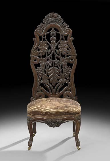 Revival Rosewood Rococo Revival Century New 19th Century Revival