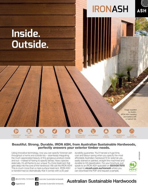 Australian Sustainable Hardwoods - Iron Ash