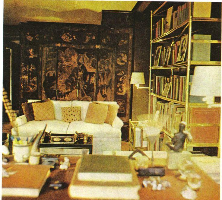billy baldwins studio apartment on east 61st street in new york city - Billy Baldwin Interior Designer