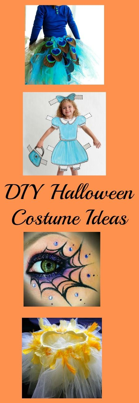 More fun to make your own Halloween Costume. DIY