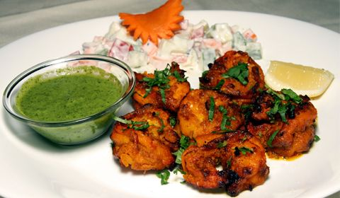 You can make fish tikka in oven but cooking over wood fire adds more taste to the recipe. It is popular recipe used as a starter in restaurants.
