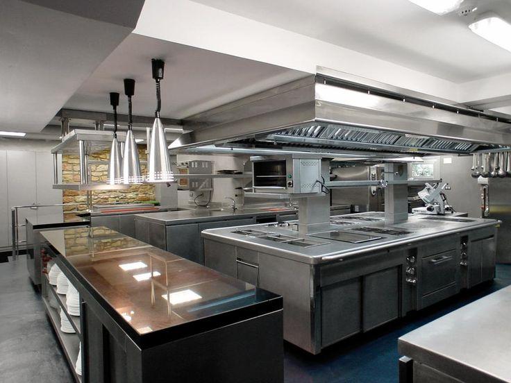 cocina industrial muebles cocina lavaplatos cocinas On cocina industrial restaurante