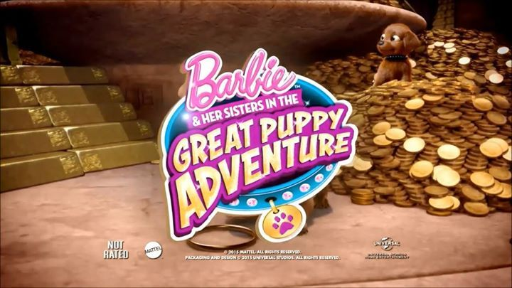 Barbie & Her Sisters in the Great Puppy Adventure will be airing on POP TV this Sunday 4th at 3pm! ❤ Watch as the girls embark on a wonderful adventure with their new puppy pals 🐶  POP TV is available on Freeview 206, Sky 616 and Freesat 603 😄 #cuteitems #watch #sunglasses #toys #noveltytoys