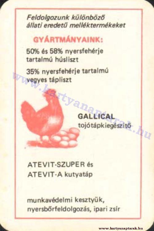 1975 - 1975_0820 - Régi magyar kártyanaptárak