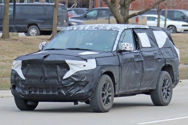 Flagra Jeep De Sete Lugares Antecipa Suv Nacional Em 2020 Suv