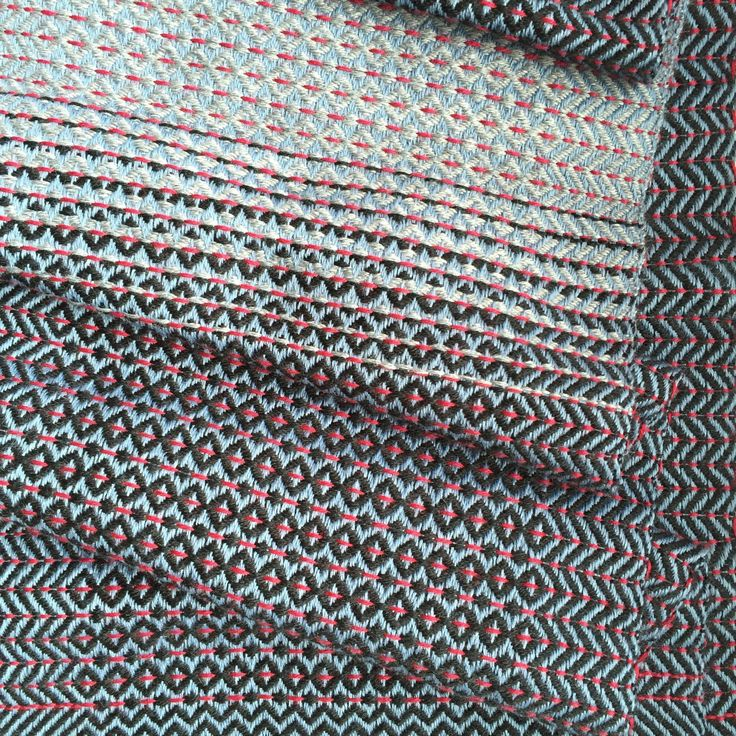 Are you a fabric lover? This fabric was woven on a 8-shaft table loom in my studio. Ombrè effects appear throughout the length of the scarf creating a unique pattern. The product is 100% handmade, made with soft, fine wool.