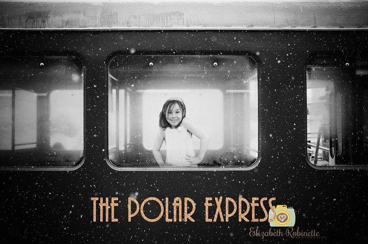 Child photography by award-winning photographer Elizabeth Robinette, Polar Express Inspired shoot for Christmas