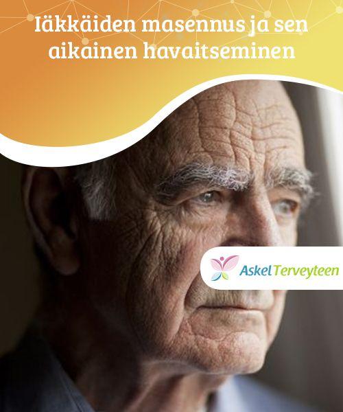 Iäkkäiden masennus ja sen aikainen havaitseminen   Eläkkeelle jäämisen jälkeen ja iän #karttuessa ihmisellä saattaa alkaa ilmetä #masennuksen oireita, sillä hän ei enää tunne #olevansa hyödyksi.  #Terveellisetelämäntavat