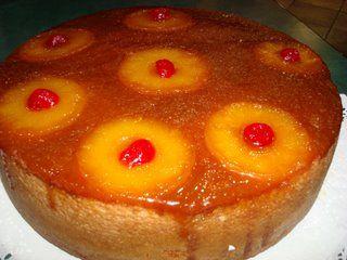 Receta de Torta de Piña y es un buen pienso para una postre especialmente en el verano.