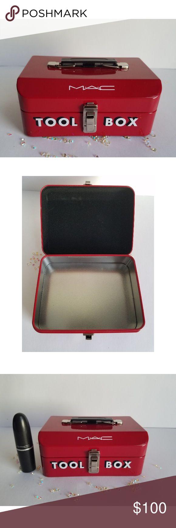 Mac Cosmetics Tool Box From The Mac Cafe Workshop Mac Cosmetics Tool Box From Th…