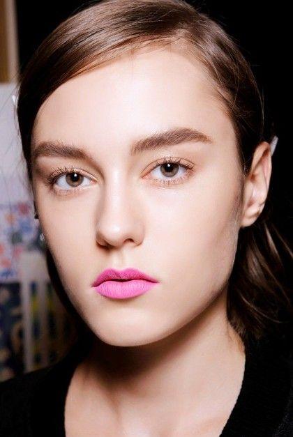 Matte pink lip | theglitterguide.com
