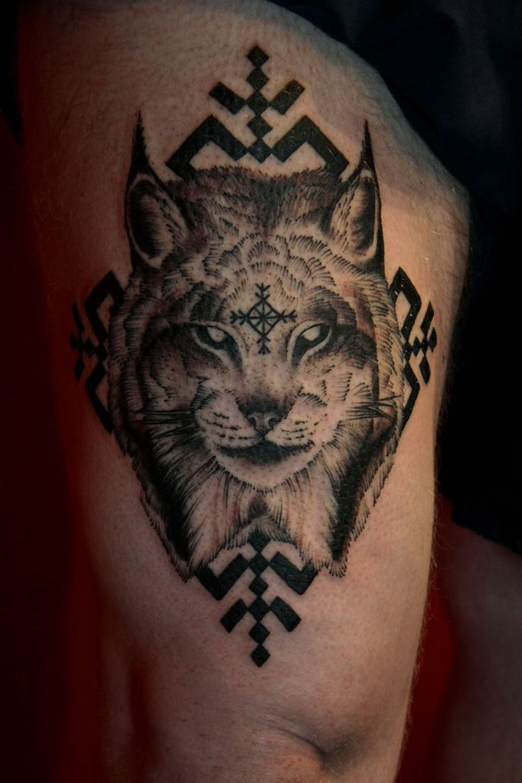 Norwegian lynx for freya thanks justin baylen levore for North carolina tattoo ideas