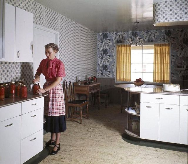 218 best 1940s kitchen images on pinterest | vintage kitchen