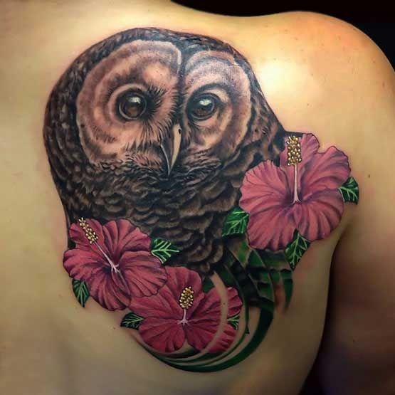 Owl Tattoo Designs Meaning | Full Tattoo
