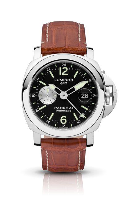 LUMINOR GMT AUTOMATIC ACCIAIO PAM00088 - Collection LUMINOR - Watches Officine Panerai
