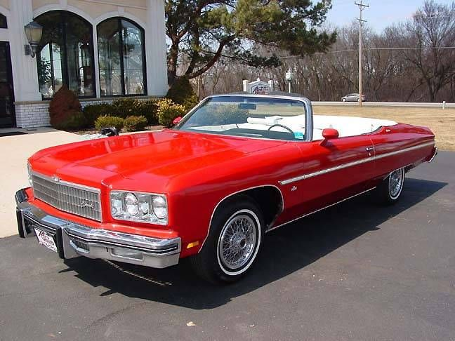 1975 chevrolet caprice classic convertible image 1 of 20 dream cars pinterest. Black Bedroom Furniture Sets. Home Design Ideas