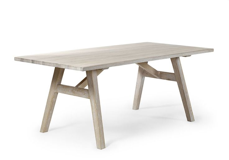 Bought this table from Torkelson in white chalked solid oak, named Trysil
