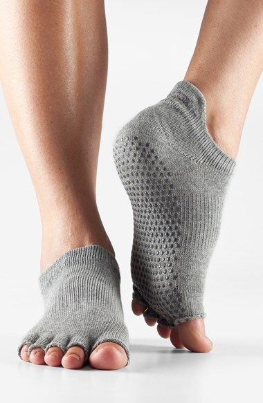 perfect socks for yoga or pilates...trendy and comfortable!