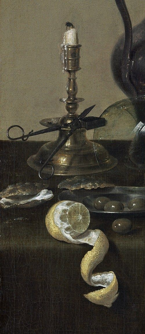 Willem Claeszoon Heda, Banquet Piece with Mince Pie, (1635):