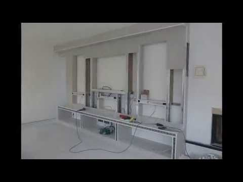 NICHO DE GESSO  DRYWALL PAREDE TV - YouTube