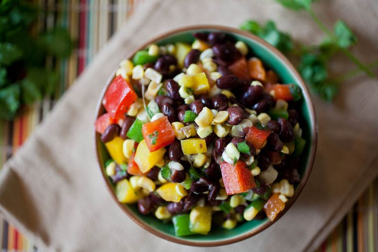 Black Bean & Corn Salad | The Crepes of Wrath