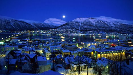 Trosmo, Norway: Best place to see the northern lights