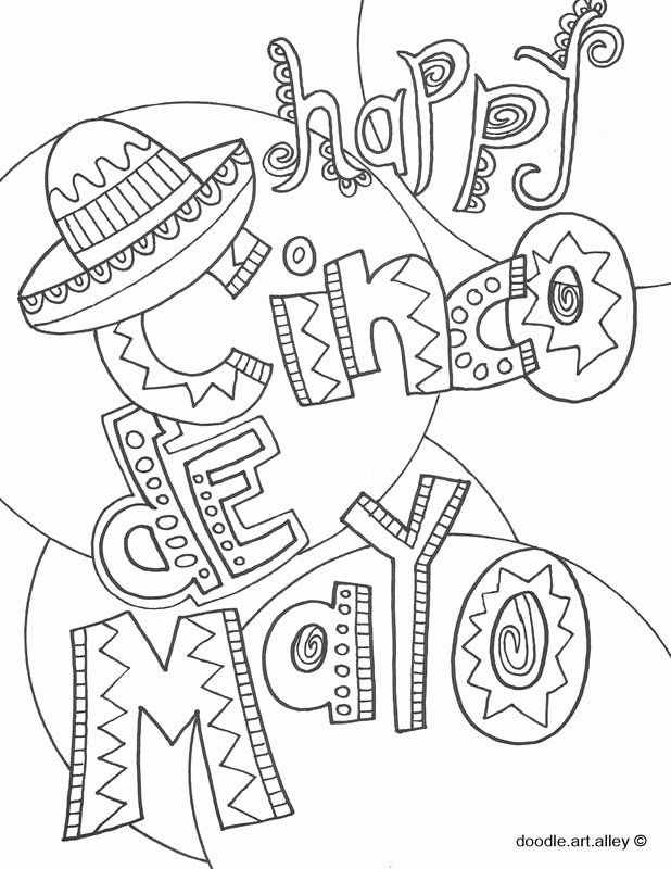 28 Cinco De Mayo Coloring Page In 2020 Bear Coloring Pages Doodle Art Superhero Coloring Pages