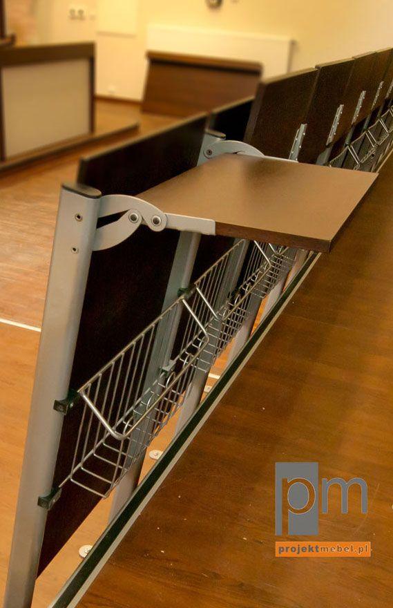 Fotel audytoryjny AK 06 , więcej na http://www.projektmebel.pl/realizacje/politechnika-lodzka