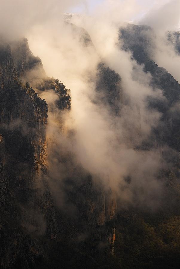 Misty Mountains  (Vikos Gorge, Epirus, Western Greece)